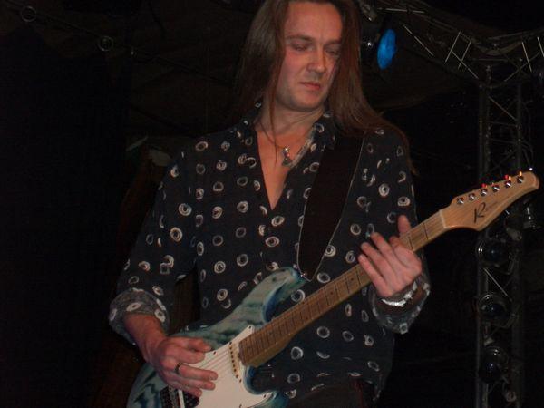 Kasper Damgaard on Guitar