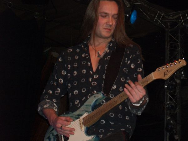 Kasper Damgaard on Guitar